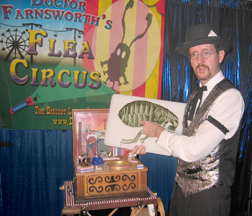 Dr Farnsworth's Flea Circus from Dasher Magic