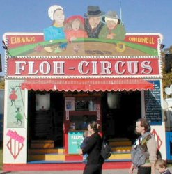 Mathes Family Floh Circus at the Oktoberfest